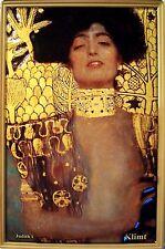 Judith I von Klimt Metal Tin Plate Sign Tin Sign 7 9/10x11 4/5in