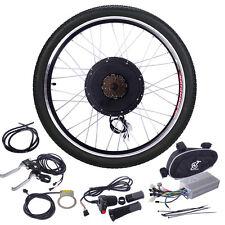 "48V 1000W Electric Bicycle Cycle E Bike  26""Conversion Kit Hub Motor Rear Wheel"