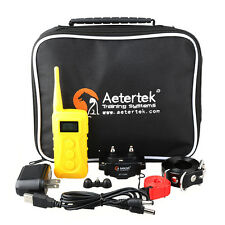 Aetertek AT-216C Remote Dog Training Vibration Collar 10 Levels Shock