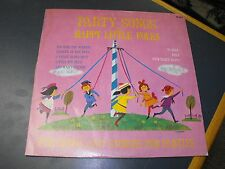 PARTY SONGS HAPPY LITTLE FOLKS - PETER RABBIT RECORDS