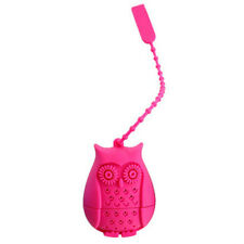 Silicone Owl Loose Tea Infuser Filter Strainer Novelty Perforated Bird Gifts