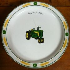 Gibson John Deere Tractor Amber Waves Salad Plates 8.5""