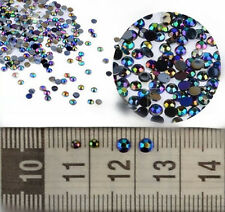 3D Acrylic Nail Art Tips Gems Crystal Rhinestones DIY Decoration Wheel act