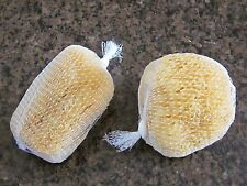 "LOT OF 2 Natural Ocean Sea 4-5""  Sponge Bath Body Shower Washing Spa Loofah"