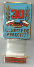 Orig.part.pin  XXX.Course de la Paix / Peace Race 1977  -  ORGANIZER  !!  RARITY
