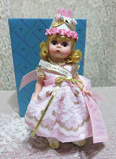 """NMIB  8""""  MADAME ALEXANDER 1995 TO MADAME WITH LOVE 2nd DOLL & TEDDY BEAR EXPO"""