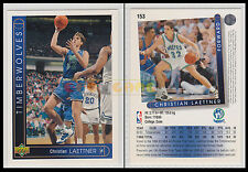 NBA UPPER DECK 1993/94 - Christian Laettner # 153 - Timberwolves Ita/Eng - MINT
