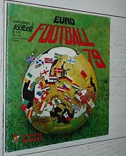 ALBUM PANINI EURO FOOTBALL 79 COUPES D'EUROPE 1978-1979 QUASI VIERGE 12/400