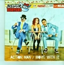 (CX801) Big Beat Bronson, Action Man / Move With It - 2012 DJ CD
