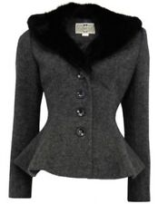 NWT COLLECTIF DEANA JACKET, BLACK LARGE/UK SIZE 14 (see Chart)