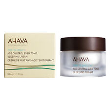 AHAVA AGE CONTROL EVEN TONE SLEEPING CREAM ANTI-AGING DEADSEA PRODUCTS 50ML