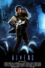 ALIENS Movie Poster Sci Fi Horror Predator Art 24X36Inch P10