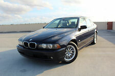 2001 BMW 5-Series Premium Luxury Sedan 4-Door