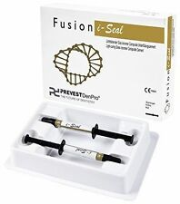 Dental Glass Ionomer Cement Syringe Fusion I-Seal Economy Pack 2 X 3g FREE SHIP