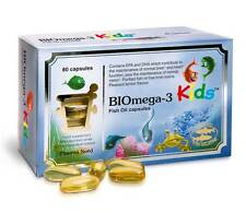 Pharma Nord BIOmega-3 Kids 80 gel caps