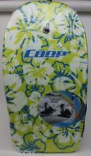 """Coop Pipe 33"""" Body Board Ages 5+  Nylon Adjustable leash 33X18X1 Nwt"""