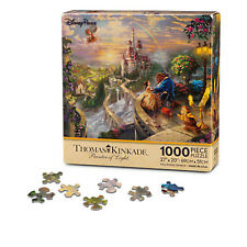 disney kinkade painter of light 1000 pc puzzle beauty and the beast new box
