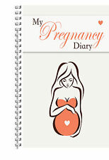A5 STANDARD BABY BOY GIRL MY PREGNANCY DIARY MATERNITY PLANNER JOURNAL GIFT