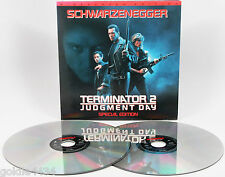 Arnold Schwarzenegger THE TERMINATOR 2 Judgement Day Laserdisc Movie