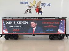 HO LIMITED RUN JOHN F KENNEDY FOR PRESIDENT CUSTOM LETTERED REEFER. LOT 9