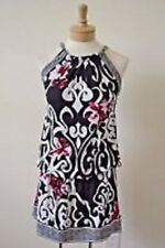 White House Black Market Sleeveless Multi Colored Dress X-Small