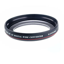 ZOMEI 58mm 0.45x Ultra Slim Wide Angle Filter Lens for Nikon Canon DSLR Camera