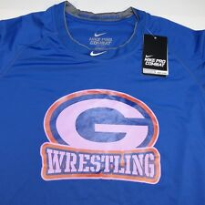 NWT NIKE PRO COMBAT BASELAYER BISHOP GORMAN HIGH SCHOOL WRESTLING T SHIRT 3XL