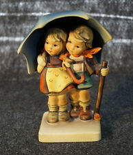 Vintage Hummel Stormy Weather Figurine # 71 Large TMK5