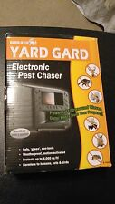 .NEW BIRD-X YARD GARD ELECTRONIC PEST CHASER 'Green' PROTECTS UP TO 4000 Sq. Ft.