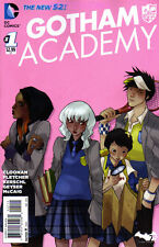GOTHAM ACADEMY #1 2nd PRINT DC COMIC BOOK NEW 2014 BATMAN VARIANT PINK COVER