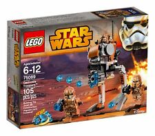 LEGO Star Wars Geonosis Troopers 75089 Brand New Sealed Set 105 Pcs