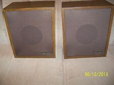 VINTAGE (1970'S) PAIR OF REALISTIC minimus-3 Bookshelf Speakers VG+/EXC w/grills