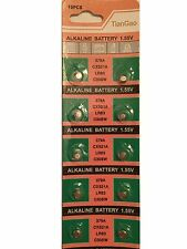 10x AG0 379A SR521 379 618 SR63 521 SR521SW Alkaline Button Cell Watch Battery