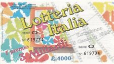 Biglietto lotteria Italia del 1990