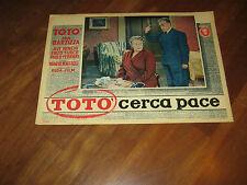 FOTOBUSTA,1954,TOTO' CERCA PACE,AVE NINCHI,BARZIZZA MATTOLI