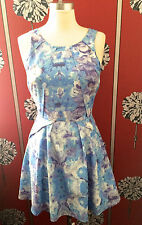 NEW TOPSHOP ORIGAMI SKATER DRESS UK 8