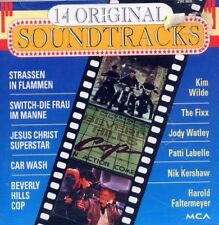 14 Original Soundtracks TRASSEN IN FLAMMEN CAR WASH JESUS CHRIST SUPERSTAR EVITA