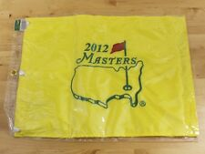 NEW 2012 Masters Augusta National Bubba Watson Golf Embroidered Pin Flag