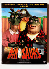 Sinclair Family Dinosaurs TV Show Seasons 3 & 4 on DVD Jim Henson Sitcom