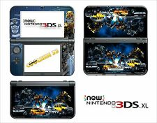 SKIN STICKER AUTOCOLLANT - NINTENDO NEW 3DS XL - REF 118 TRANSFORMERS