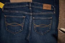 GIRLS JEANS - ABERCROMBIE - SIZE 14 - HALEY - CUTE STRETCH - DENIM JEANS - GG