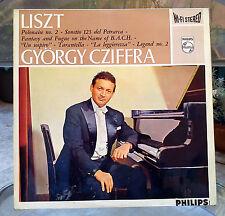 LISZT - György CZIFFRA - Philips 835 191 AY - Stereo LP RARE