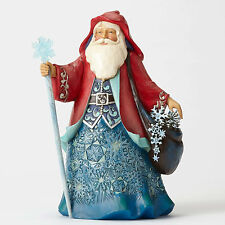 Jim Shore Wonderland Santa w/Snowflakes Father Frost Figurine ~ 4053671