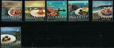 GuernseySC868-873 Food-Dishes-Gastronomy MNH 2005