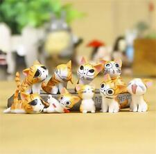 9pcs Anime Cartoon Lovely Cute Yellow Chi's Sweet Home Figure figurine gardening