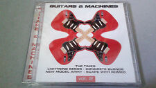 "CD ""GUITARS & MACHINES 2"" 2 CD 18 TRACKS CONCRETE BLONDE ICEHOUSE GRAUZONE"