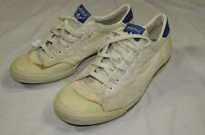 "Vtg 70s 80s Adidas ""Tennis Player"" Shoes Sz 8 ? Skid Grip Trefoil Rare Nice!"