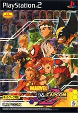 USED Marvel vs. Capcom 2: New Age of Heroes japan import PS2