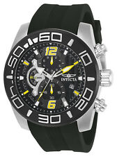 Invicta Pro Diver Mens Quartz 50mm Stainless Steel Case Black Dial - Model 22809