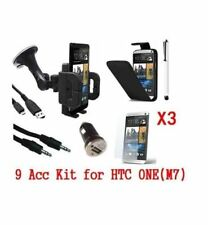 HTC ONE(M7) 9 x Accessory Kit - Includes All High Quality Necessary Accessories